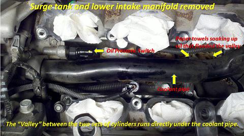 Oil Pressure Switch Replacement - 2010 Santa Fe 3.5L ...